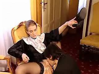 Shy nun turned to be very horny and passionate lover