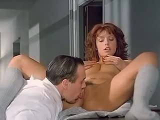 Hot brunette beauty seduces her doctor in hospital