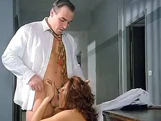 Hot brunette beauty fucked by her doctor in hospital