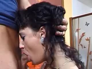 Harsh stud to prevail obedient wife n gives facial