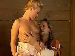 Gorgeous blond mistress fucking w lustful nobleman